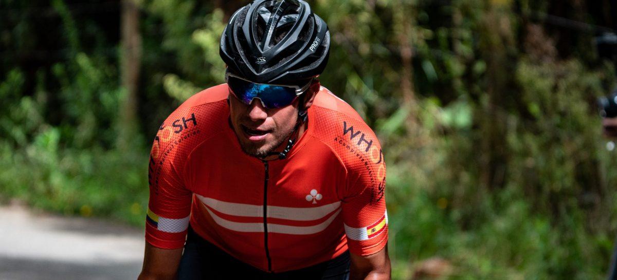 Luego de dos años en Europa, el unitense Julián Cardona renace en el ciclismo colombiano