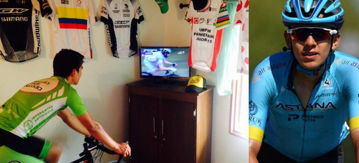 ¡Sueño cumplido! El joven que veía el Tour de Francia por TV en El Carmen, este año lo correrá