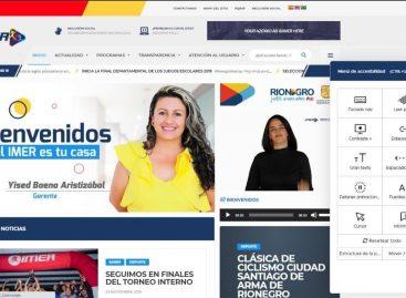 ¡Más incluyente e informativo! El IMER renovó su sitio web