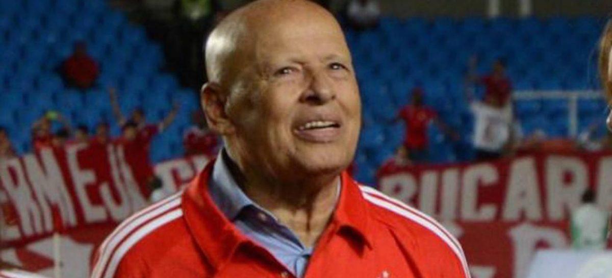 Falleció Gabriel Ochoa Uribe, el técnico más ganador en la historia del fútbol colombiano