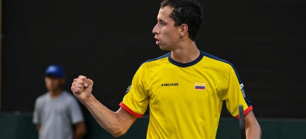 El colombiano Daniel Galán ganó en Roland Garros su primer duelo en un Grand Slam