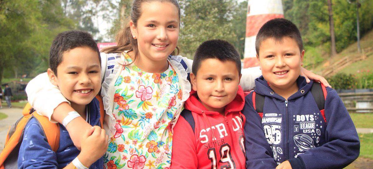 En Rionegro, los niños de preescolar a quinto de primaria disfrutan de la actividad física