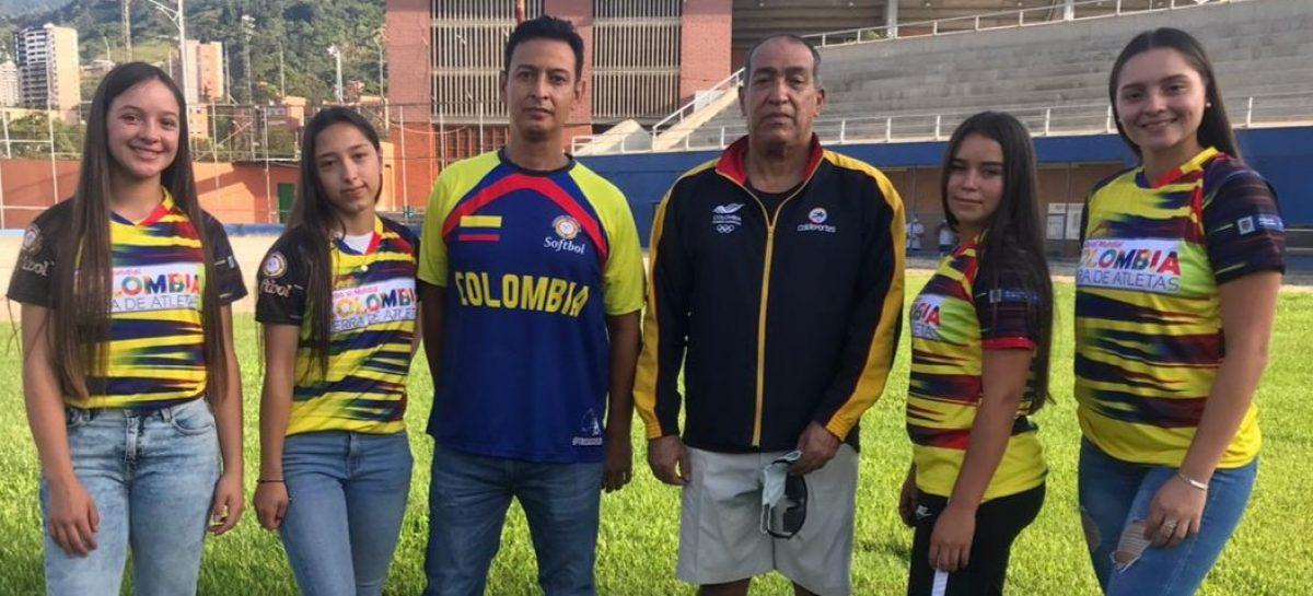 Deportistas de El Peñol integran la Selección Colombia de Sóftbol que jugará el Mundial en Perú