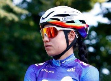 La cejeña Paula Patiño finalizó en el Top 10 de la primera etapa del Tour de l'Ardèche en Francia