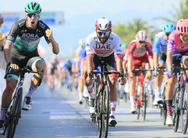 ¡Apretado final! Fernando Gaviria fue segundo en la primera etapa de la Tirreno Adriático