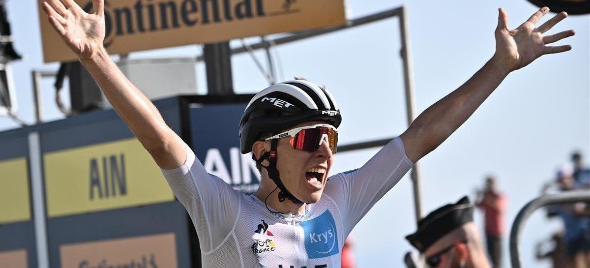 ¡Impresionante! Con solo 21 años, Tadej Pogačar es el nuevo campeón del Tour de Francia