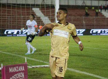 El rionegrero Juan Pablo Otálvaro fue titular en el empate entre Rionegro y Deportivo Pasto