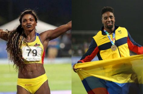 Doble podio para Colombia en Francia con Caterine Ibargüen y Mauricio Ortega