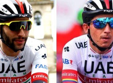 Fernando Gaviria y Sergio Luis Henao, la cuota del Oriente en la Tirreno Adriático