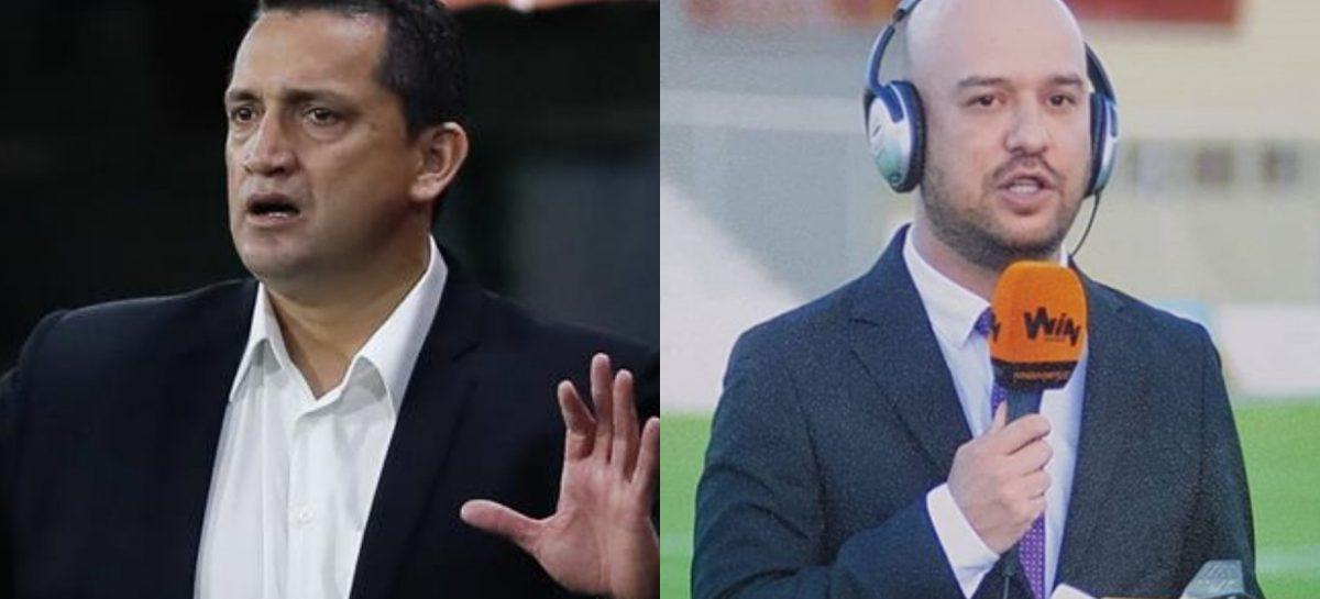 Periodista de Win Sports denuncia que Aldo Bobadilla lo insultó y lo amenazó previo al partido del DIM