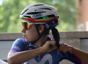 Una cejeña participará en la prueba ciclística femenina más importante del mundo
