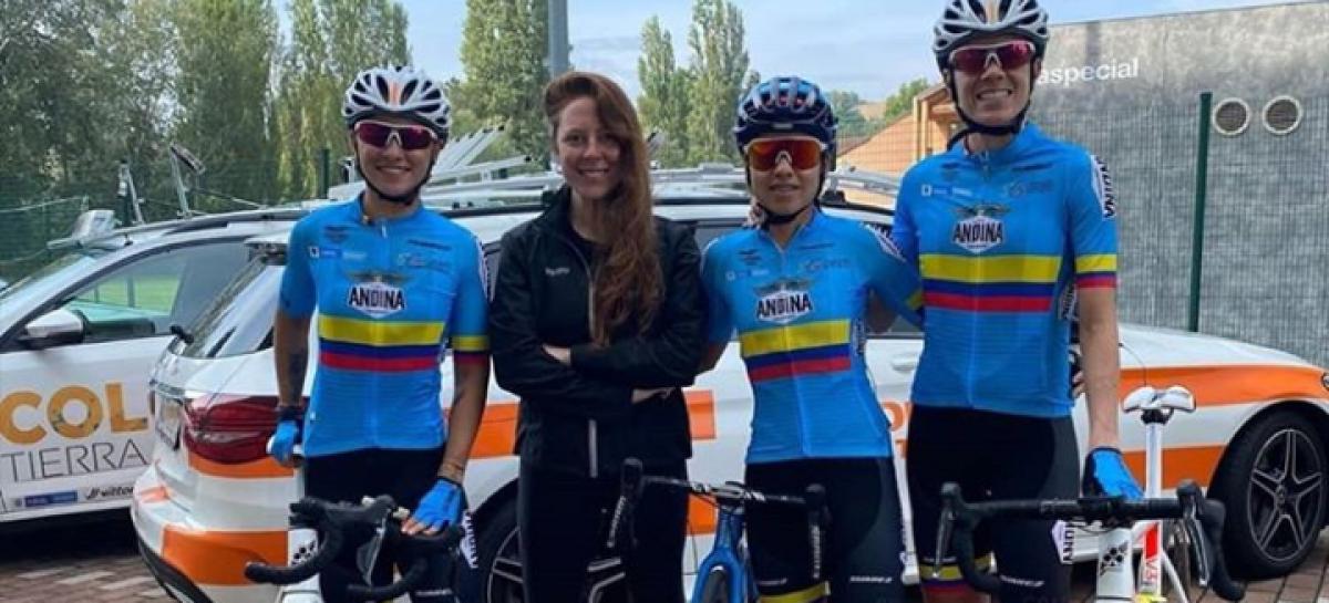 ¡Listas para el Mundial! Paula Patiño y Daniela Atehortúa ya ruedan por las carreteras de Italia