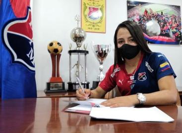 La rionegrera Sara Sofía Martínez renovó contrato con el DIM