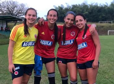 Sara Sofía Martínez y Manuela Restrepo, convocadas al segundo microciclo de la Selección Colombia Sub 20