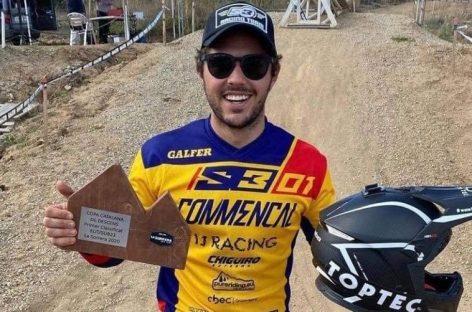 El colombiano Rafael Gutiérrez se coronó campeón de la Copa Catalana de Downhill