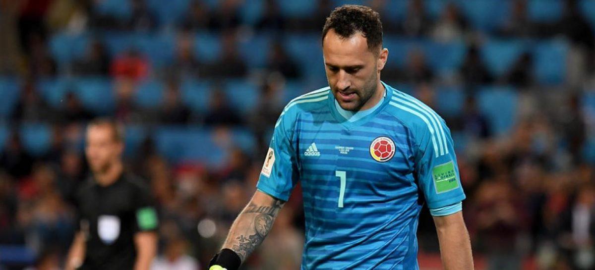 ¡Otra baja más! David Ospina tampoco podrá viajar a Colombia para jugar las Eliminatorias