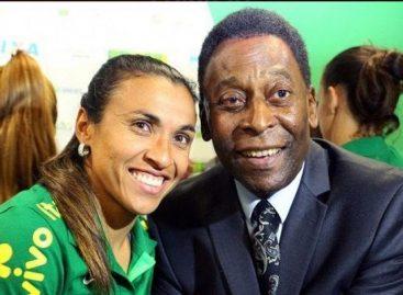 Brasil le sigue apostando a la igualdad: Marta Vieira tendrá una estatua al lado de Pelé