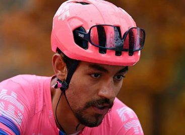 ¡Fin de la temporada! Daniel Felipe Martínez abandonó la Vuelta a España
