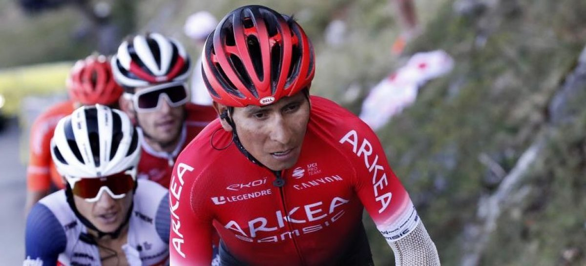 Fin de la temporada para Nairo Quintana: será sometido a una cirugía en la rodilla