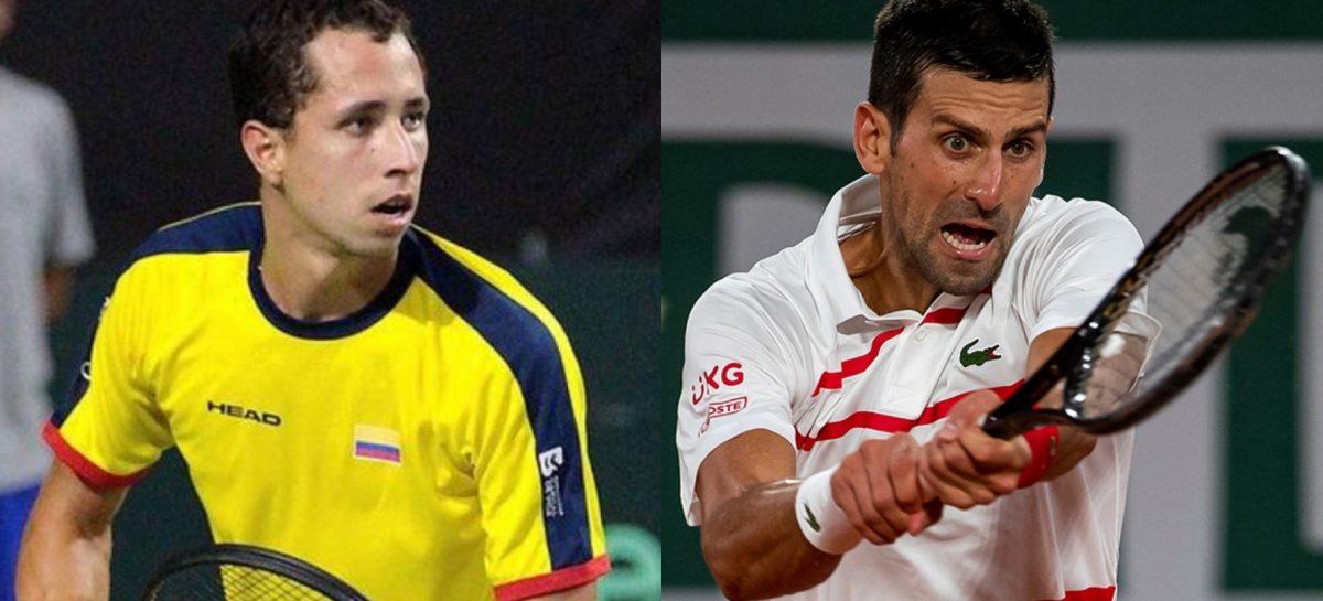 Daniel Galán clasificó a tercera ronda de Roland Garros y enfrentará a Novak Djokovic