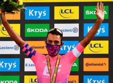 Daniel Martínez fue nominado al Vélo D'Or, el premio que reconoce al mejor ciclista de la temporada