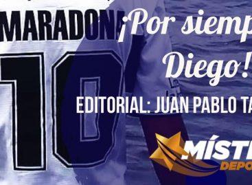 ¡Por siempre, Diego!
