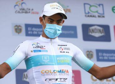 Diego Camargo es el nuevo líder de la Vuelta a Colombia; Salvador Moreno ganó la quinta etapa