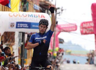 José Tito Hernández, ciclista de El Carmen de Viboral, ganó la octava etapa de la Vuelta a Colombia