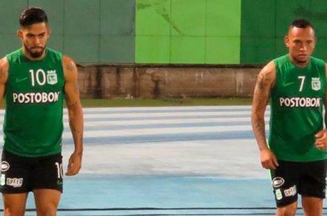 ¡Sí juegan! La Dimayor habilitó a Jarlan Barrera y Andrés Andrade para el partido entre América y Atlético Nacional