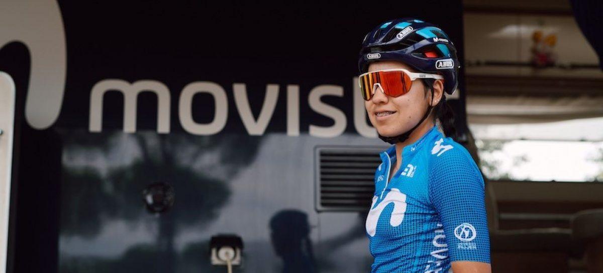 La cejeña Paula Patiño renovó contrato con el Movistar Team hasta 2023