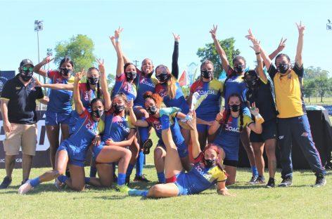 Bronce para la Selección Colombia Femenina en el Sudamericano de Rugby 7s en Uruguay