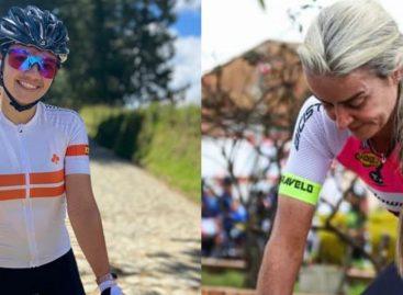 Lina Hernández, segunda en la CRI de la Vuelta a Colombia Femenina; María Luisa Calle, tercera