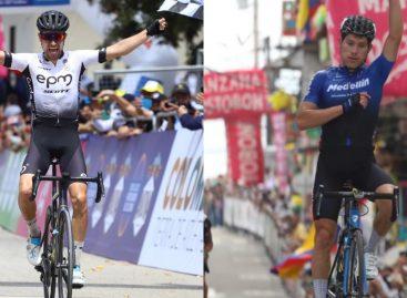 Alexander Gil y Tito Hernández, los ciclistas del Oriente que finalizaron en el Top 10 de la Vuelta a Colombia
