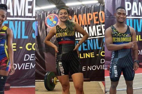¡Oro, plata y bronce! Colombia es protagonista en el Panamericano Sub 20 de levantamiento de pesas