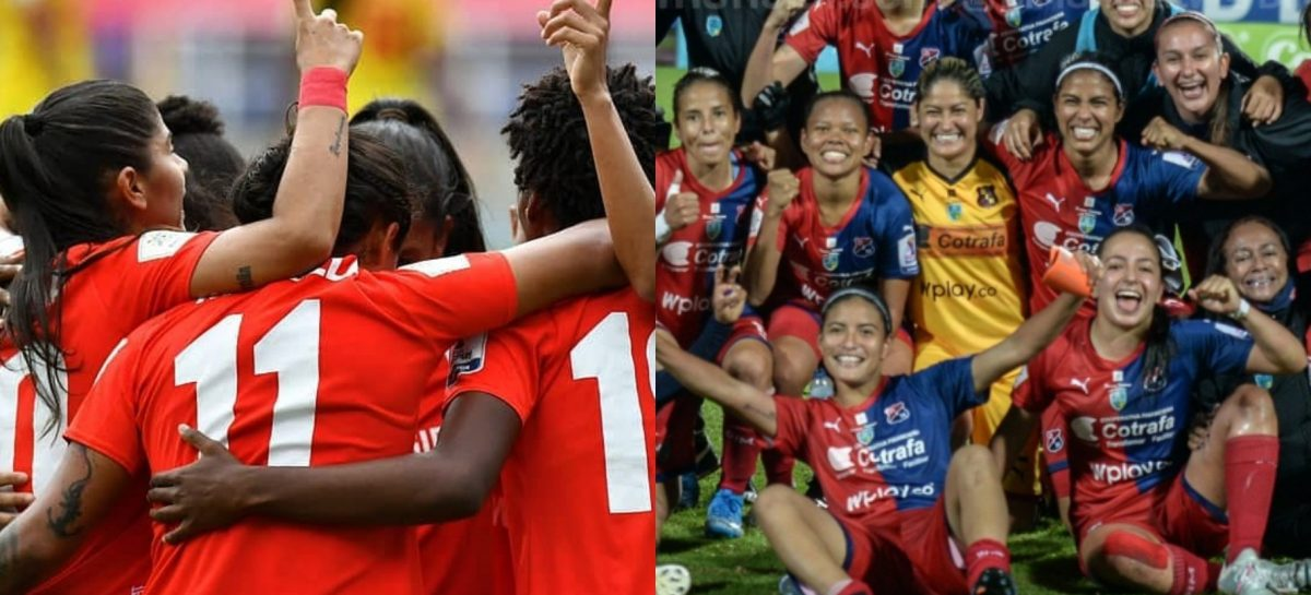 Catalina Usme y Sara Sofía Martínez clasificaron a la semifinal de la Liga Femenina