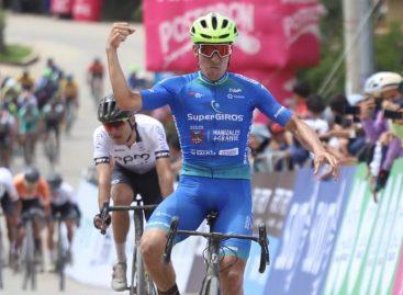 Bernardo Suaza, ciclista de El Retiro, ganó la primera etapa de la Vuelta a Colombia