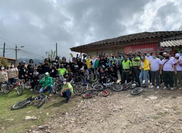 El Carmen de Viboral, Indeportes Antioquia y Devimed: unidos por el Gravity Bike seguro y legal