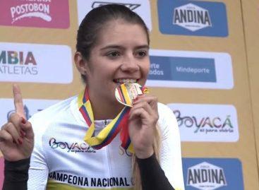Lina Marcela Hernández, de El Carmen, fue elegida la Deportista Revelación del Año en Antioquia