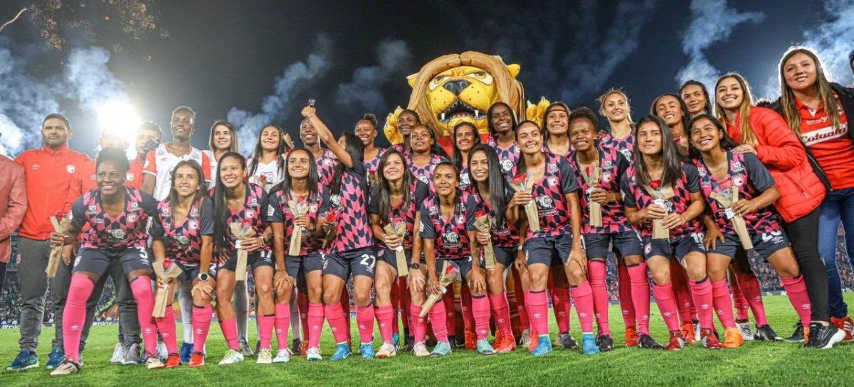 ¡Segundo título para las 'Leonas'! Independiente Santa Fe, campeón de la Liga Femenina 2020