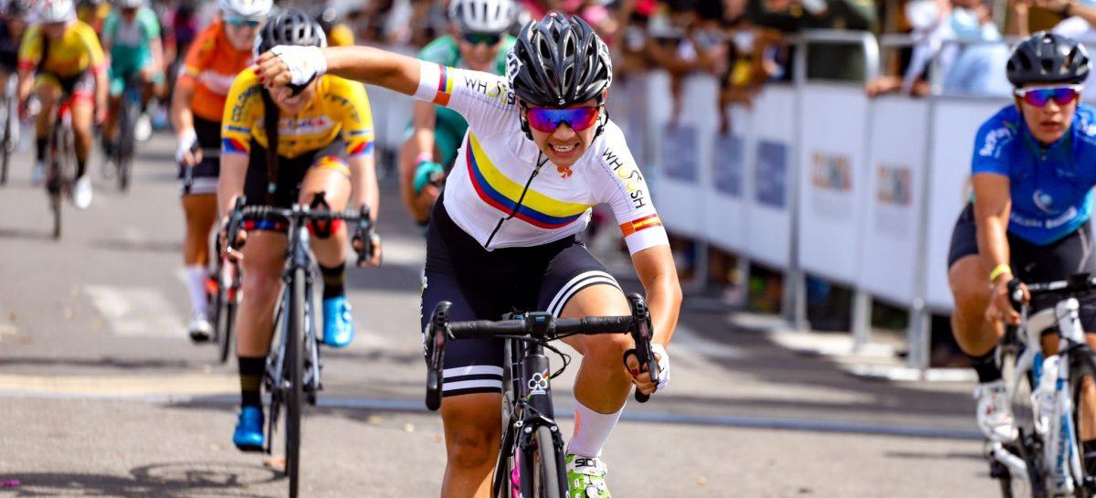 La carmelitana Lina Marcela Hernández ganó la primera etapa del Tour Femenino en Yopal