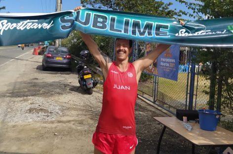 ¡Impresionante! A los 41 años, Juan Eugenio Valencia batió un récord mundial de Ultra Triatlón en el Oriente Antioqueño