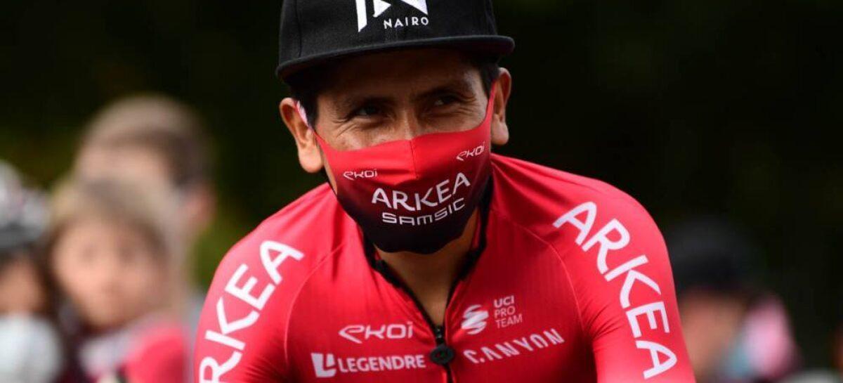 ¡Continúa en recuperación! Nairo Quintana no correría en el primer trimestre de 2021