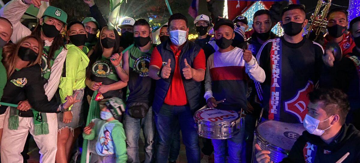 Con presencia de barristas del DIM y Atlético Nacional, fue institucionalizado el Día del Fútbol Rionegrero
