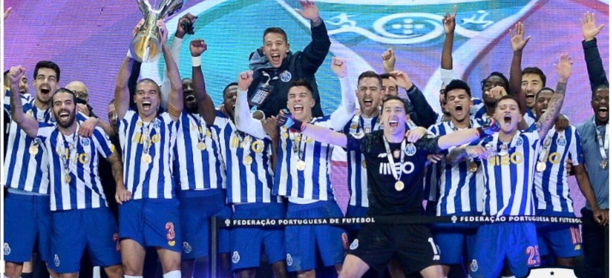 Luis Díaz y Matheus Uribe se consagraron campeones con el Porto de la Supercopa de Portugal
