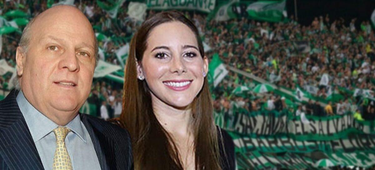 Fuertes críticas de los hinchas de Atlético Nacional hacia la hija de Antonio José Ardila