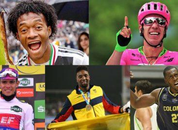 Cuadrado, Rigo, Higuita, Ortega y Tello: los nominados a Deportista del Año en Antioquia