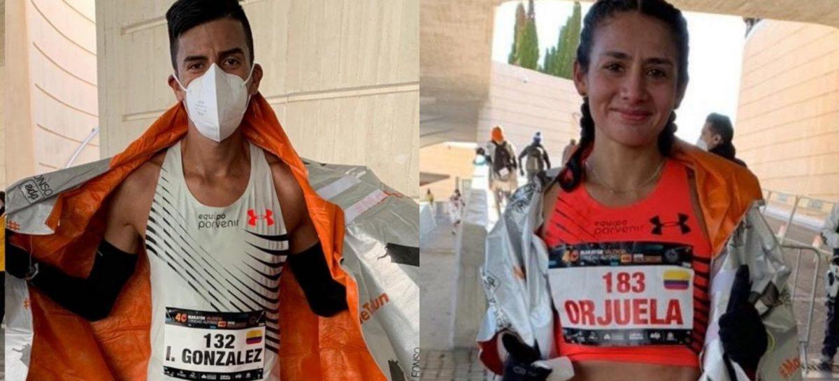 ¡Dos cupos más para Colombia! Iván González y Angie Orjuela clasificaron a los Juegos Olímpicos