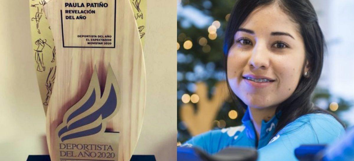 ¡Atención! La cejeña Paula Patiño fue elegida como la Deportista Revelación del Año en Colombia