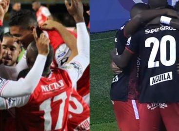 ¡La final es roja! Independiente Santa Fe y América de Cali jugarán por el título de la Liga Betplay