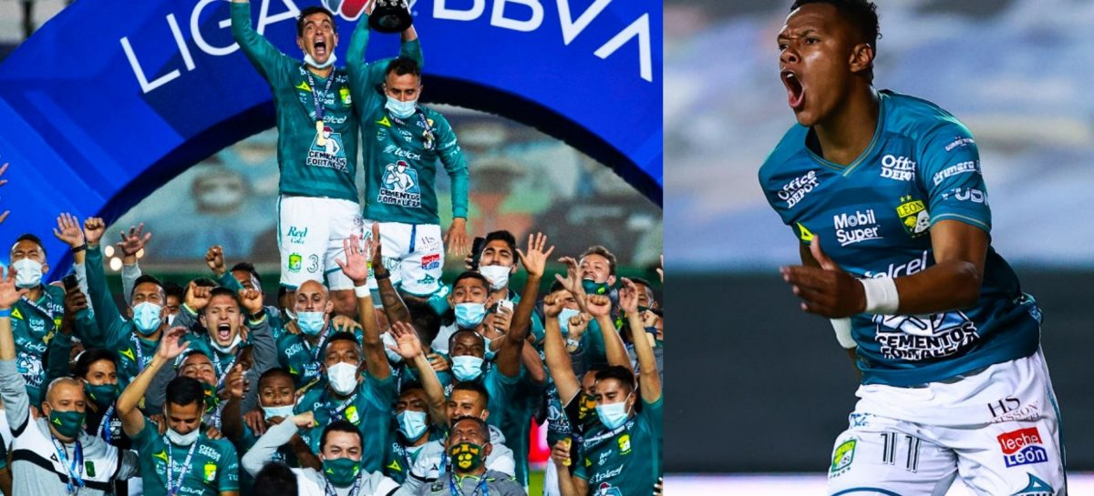 Yairo Moreno, Andrés Mosquera, William Tesillo y Stiven Barreiro: ¡Campeones del fútbol mexicano!